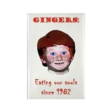 Soul Eating Ginger Rectangle Magnet
