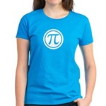 Women's Pi Emblem T-Shirt - Choose your favorite color to show off Pi. - Availble Sizes:Small,Medium,Large,X-Large,2X-Large (+$3.00) - Availble Colors: Black,Red,Caribbean Blue,Violet,Pink,Navy,Charcoal Heather,Kelly