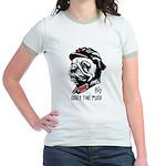Chairman Pug -Propaganda Jr. Ringer T-Shirt