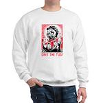 Follow Chairman Pug! 2-sided Sweatshirt