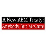 New ABM Treaty: Anybody But McCain sticker