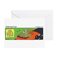Unique Sanke Greeting Cards (Pk of 10)