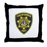 California A.B.C. Throw Pillow