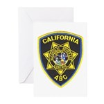 California A.B.C. Greeting Cards (Pk of 10)