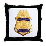 New York EMT Throw Pillow