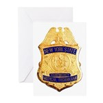 New York EMT Greeting Cards (Pk of 10)