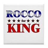 ROCCO for king Tile Coaster