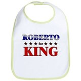 ROBERTO for king Bib