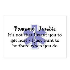 Trauma Junkie Postcards (Package of 8)