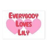 Everybody Loves Lily Postcards (Package of 8)