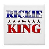 RICKIE for king Tile Coaster