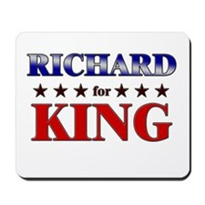 RICHARD for king Mousepad