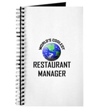 World's Coolest RESTAURANT MANAGER Journal