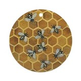 Honey Bees Keepsake Ornament