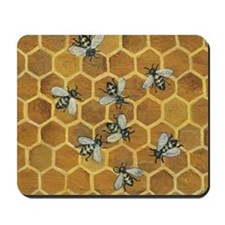 Honey Bees Mousepad