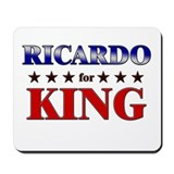 RICARDO for king Mousepad