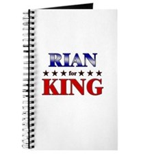 RIAN for king Journal