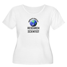 World's Coolest RESEARCH SCIENTIST T-Shirt