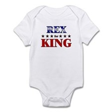 REX for king Infant Bodysuit