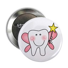 "Tooth Fairy 2.25"" Button (100 pack)"