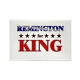 REMINGTON for king Rectangle Magnet