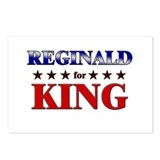 REGINALD for king Postcards (Package of 8)