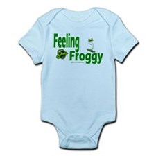 Feeling Froggy Infant Bodysuit