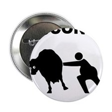 "Unique Cow tipping 2.25"" Button (10 pack)"