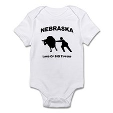 Unique Cow tipping Infant Bodysuit