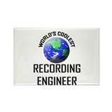 World's Coolest RECORDING ENGINEER Rectangle Magne