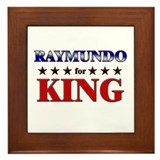 RAYMUNDO for king Framed Tile