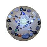 Naturally Magickal Pentacle of Stones 3.5