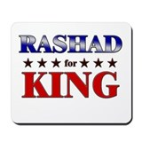 RASHAD for king Mousepad