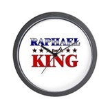 RAPHAEL for king Wall Clock