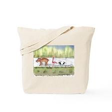 Hippo Birdie 2 Ewe Tote Bag