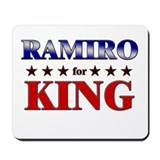 RAMIRO for king Mousepad