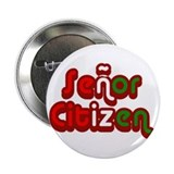 Senor Citizen Button - 2.25&quot;
