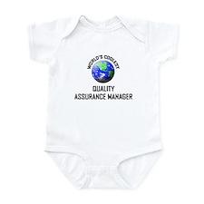 World's Coolest QUALITY ASSURANCE MANAGER Infant B