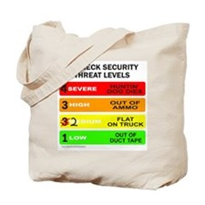 REDNECK SECURITY THREAT Tote Bag