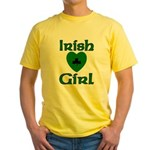 Irish Girl Yellow T-Shirt