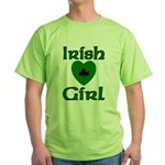 Irish Girl Green T-Shirt