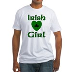 Irish Girl Fitted T-Shirt