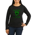 Irish Girl Women's Long Sleeve Dark T-Shirt