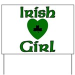 Irish Girl Yard Sign