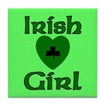 Irish Girl Tile Coaster