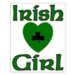 Irish Girl Small Poster