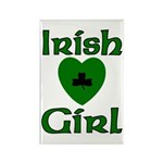 Irish Girl Rectangle Magnet