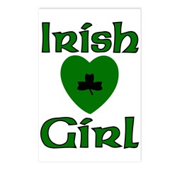 Irish Girl Postcards (Package of 8)