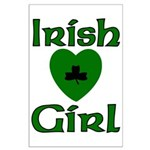 Irish Girl Large Poster