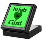 Irish Girl Keepsake Box